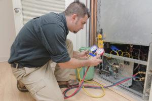 hvac-technician-working